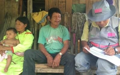 Indígenas denuncian riesgo de exterminio estadístico en el censo nacional de Colombia