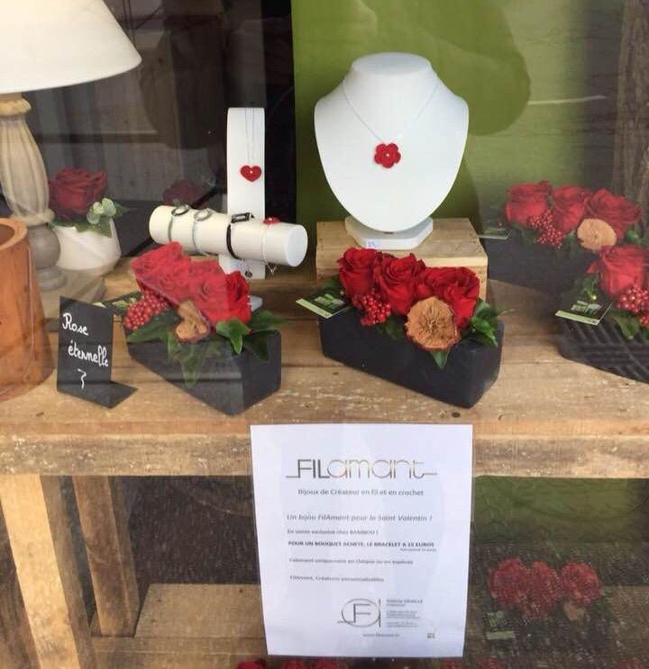Filamant : Offre spéciale Saint-Valentin chez Bambou fleuriste à Orgeval