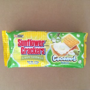 Sunflower Crackers Coconut Creme