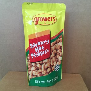 Growers Savory Hot Peanuts