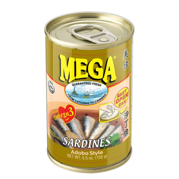 Canned Sardines Adobo Style