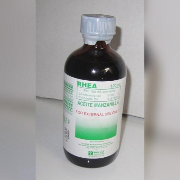 Rhea Aceite Manzanilla