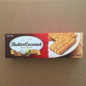 Butter Coconut Cookies