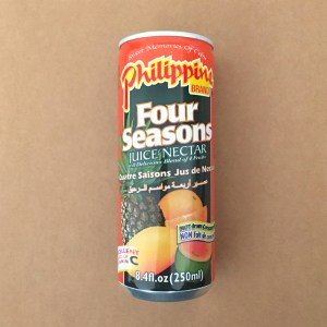Canned Four Seasons Drink
