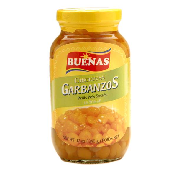 Garbanzos in Syrup