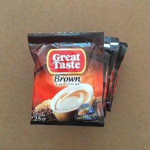 Great Taste Brown 3in1 Coffeemix