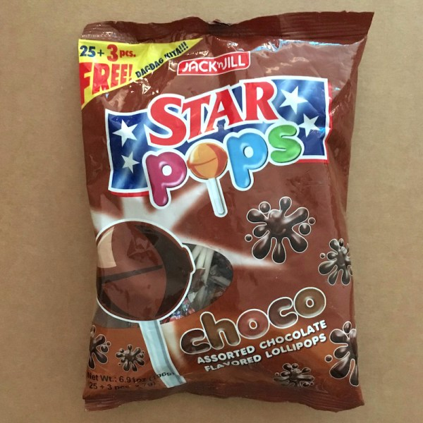 Chocolate-Flavored Lollipops