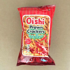 Oishi Prawn Crackers Spicy
