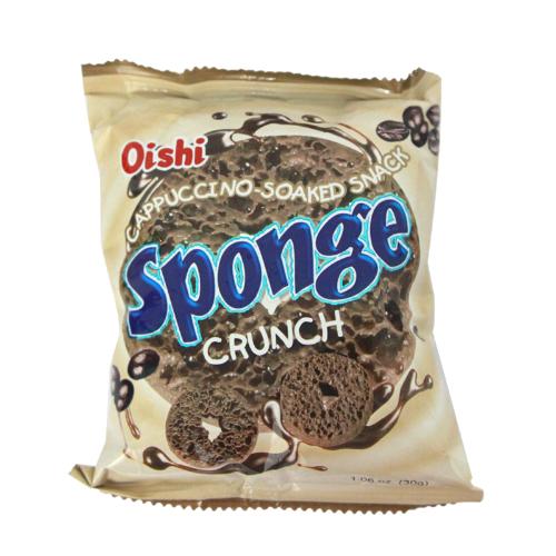 Sponge Crunch: Cappuccino