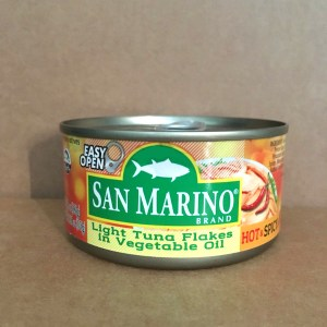 San Marino Tuna in Vegetable Oil (Hot & Spicy)
