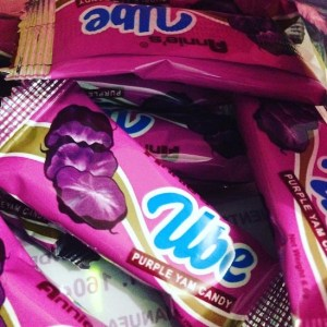 Purple Yam Candy from the Philippines!