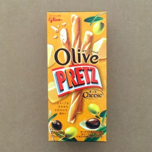 Olive Pretz Snack Cheese Flavor