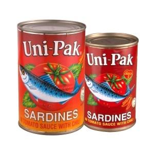 Unipak Sardines Tomato Sauce Chili