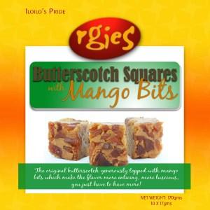 Filipino Butterscotch with Mango