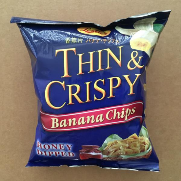 Thin & Crispy Banana Chips with Honey