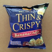 Thin & Crispy Banana Chips with Honey