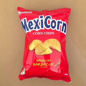 Barbecue-flavored Corn Chips