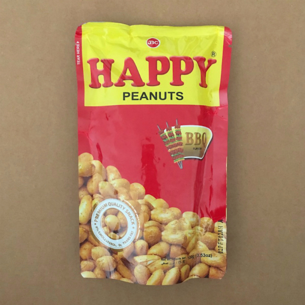 Happy Peanuts BBQ Flavor