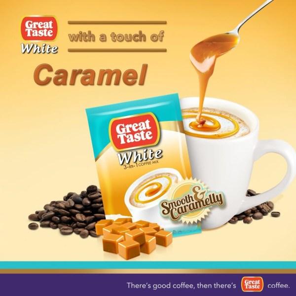 Great Taste Caramel Flavor Coffee