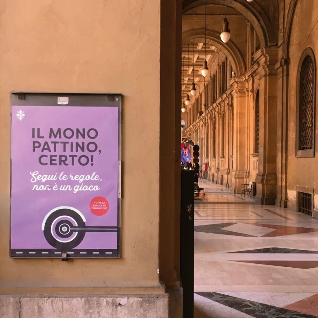 Campagna outdoor mobilità sostenibile