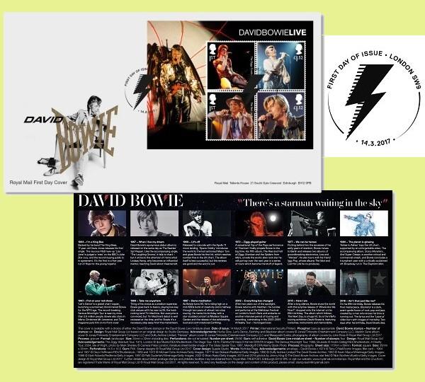 David Bowie - Foglietto