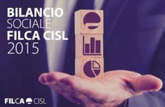 Bilancio sociale Filca 2015 copertina