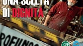 """ADESIONE DELLA FILCA ALLA CAMPAGNA """"5X1000 ALL'ISCOS"""""""