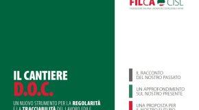 """IL CANTIERE D.O.C.: PROPOSTA FILCA PER UN """"PASS DI ACCESSO AL CANTIERE"""""""