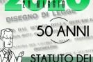 50 ANNI DELLO STATUTO DEI LAVORATORI, VIDEO-TRIBUTO DELLA FILCA