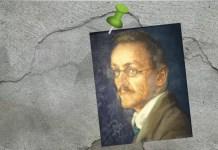 Ilustración a partir del retrato de Hermann Hesse (1909) de Ottilie Roederstein. Archivo: Wolfgang Sauber. Bajo licencia CC BY-SA 4.0 (https://creativecommons.org/licenses/by-sa/4.0)], via Wikimedia Commons