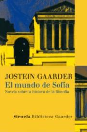 """""""El mundo de Sofía"""", de Jostein Gaarner, editado por Siruela."""