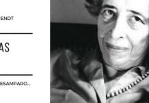 Hannah Arendt fue una de las personas más influyentes del siglo XX. Pensadora y escritora alemana de nacimiento, en 1906, se nacionalizó estadounidense. Murió en Nueva York en 1975. Escribió poesía que ahora podemos leer publicada por Herder. Foto Hannah Arendt, Ryohei Noda, flickr, CC BY 2.0.