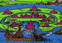 """""""La isla de Utopía tiene una anchura de trescientos veinte kilómetros en su parte media (que es la más ancha). Esta anchura continúa por la mayor parte del suelo salvo que poco a poco se adentra (...)."""", escribe Tomás Moro en su famosísima obra."""