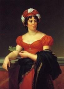Retrato de Madame de Stäel realizado por François Gérard (1770-1837).