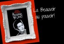 Montaje a partir de una ilustración de Simone de Beauvoir hecha por Filosofers www.filosofers.com