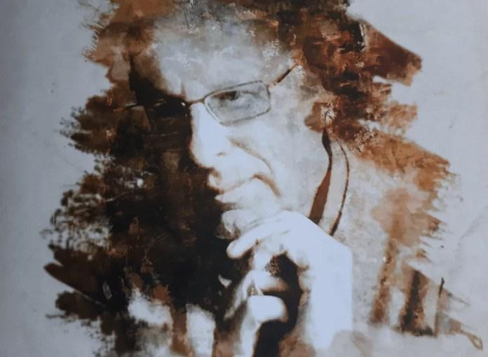 Retrato de Javier Sádaba en la portada de