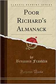 Filosofía & co. - poor richard´s almanack ben franklin forgotten books