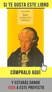 """""""Kant y la época de las revoluciones"""", de José Luis Villacañas, editado por Akal."""