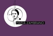 La ilustración de María Zambrano, por cortesía de www.filosofers.com