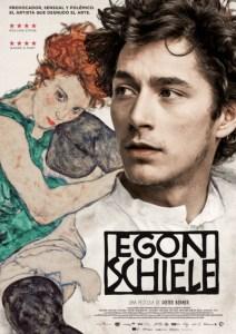 Noah Saavedra da vida al personaje de Egon Schiele en la película dirigida por Dieter Berner,