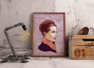 Lámina Rebeldes De Beauvoir de Filosofers.