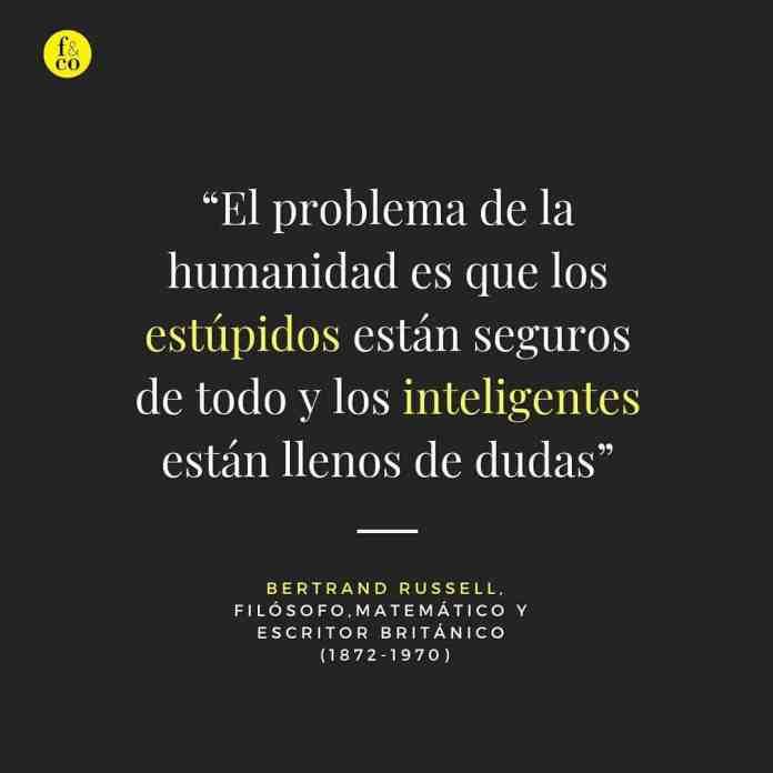 Frase filosófica: Bertrand Russell #1