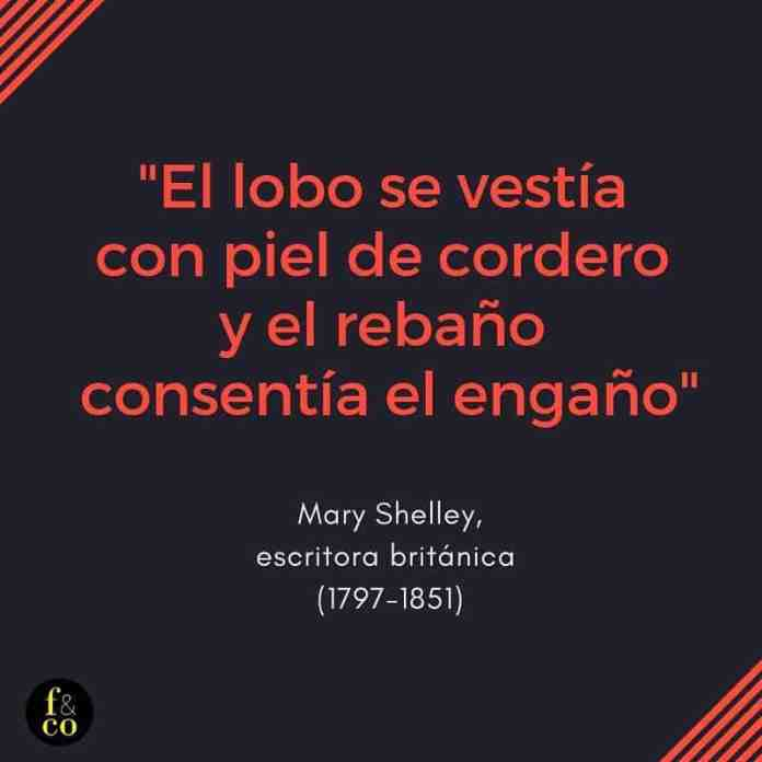 Frase filosófica Mary Shelley