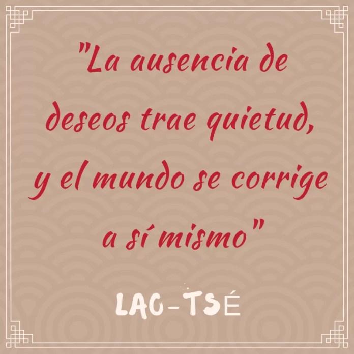 Frase filosófica: Lao Tsé #1