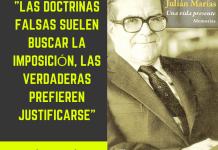Frase filosófica: Julián Marías #1