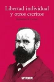"""""""Libertad individual y otros escritos"""", de Benjamin R. Tucker (Stirner)."""