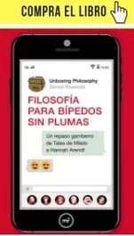 Filosofía para bípedos sin plumas, de Daniel Rosende, Unboxing Philosophy (Martínez Roca).
