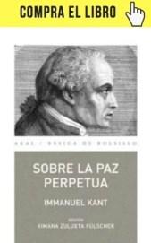 Sobre la paz perpetua, de Kant, en Akal.