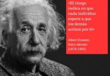 Frase filosófica Einstein