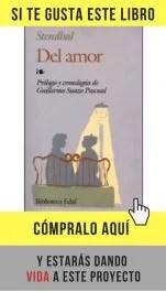 Del amor, Stendhal (Edaf).